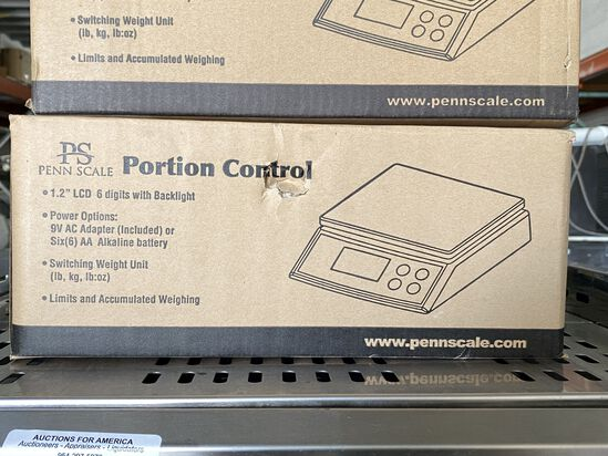 PS50 Electric Portion Control Scale, Up To 50 lbs. New In Box