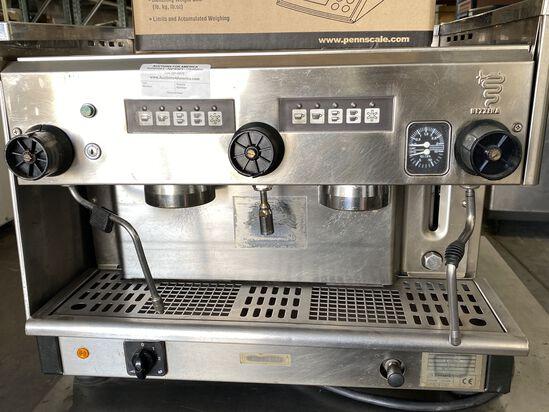 Bezzera B2002 Group Cappuccino Espresso Machine Push Button Controls