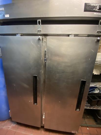 Delfield 6000XL Double Door Reach-In Cooler