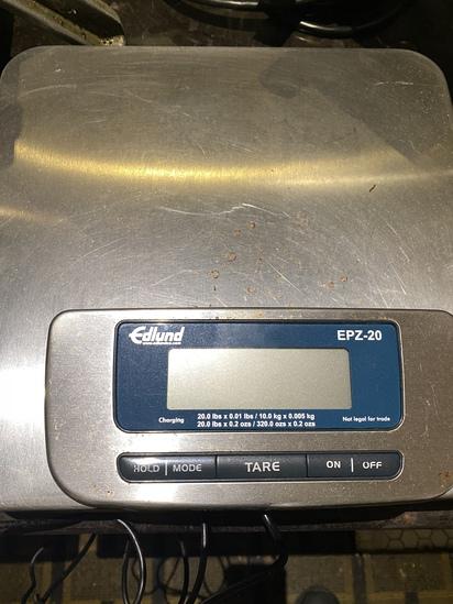 Edlund EPZ-20 Digital 20lbs  Scale