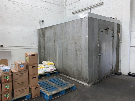 6 X 12 Walkin Cooler/Freezer Combo