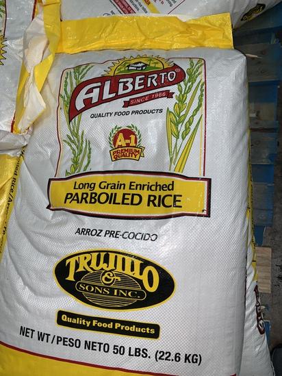 50 Lb Bags of Rice