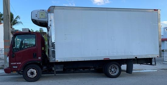 2008 Isuzu Refrigerated Truck,