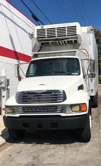 2003 Sterling Refrigerated Truck,