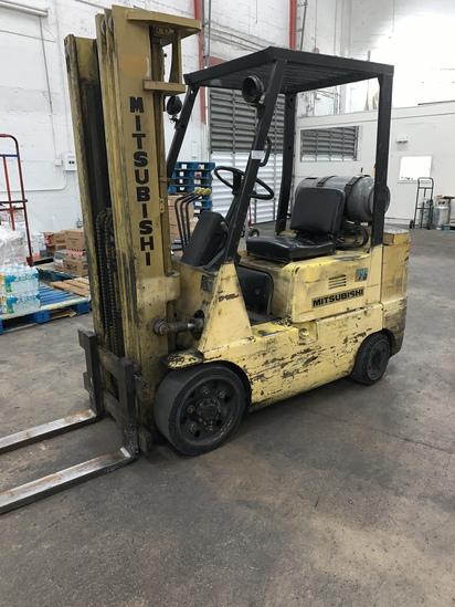 Forklift, 3 Stage Mitsubishi 25