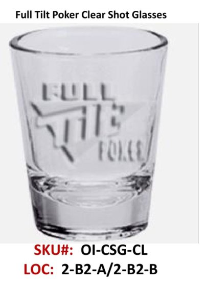 Clear Shot Glass, 4-Pack