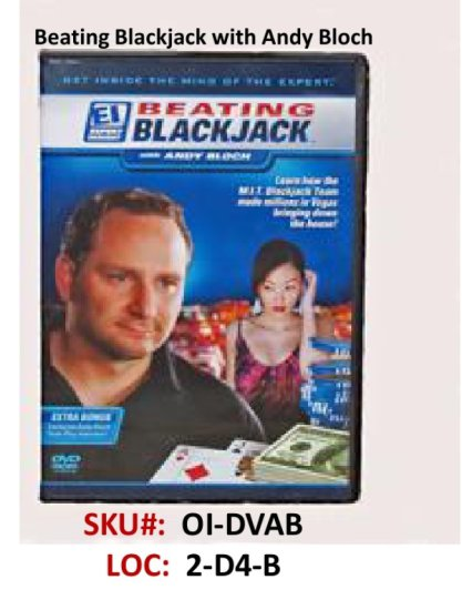 Beat the BlackJack DVD