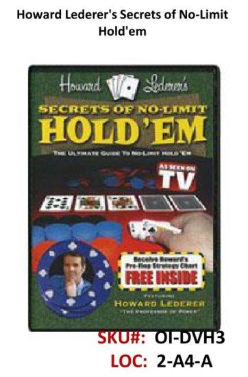 Howard Lederer's Secrets of No-Li