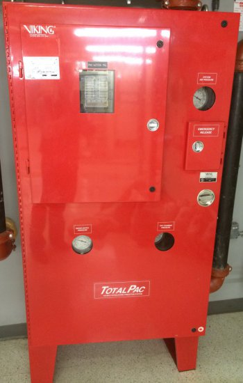 Viking TotalPac Fire Suppression System and Ansul AutoPulse