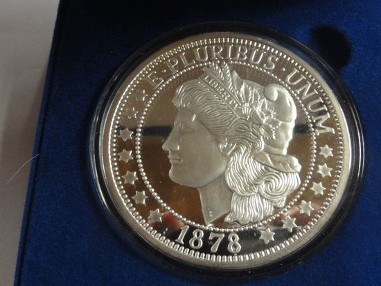 NATIONAL COLLECTORS MINT PROOF .999 FINE SILVER