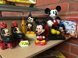 GROUPING OF MICKEY MOUSE COLLECTIBLES