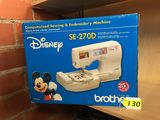 BROTHER DISNEY COMPUTERIZED SEWING & EMBROIDERY MACHINE SE 270D, NIB