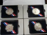 (4) 2006 U.S. MINT BENJAMIN FRANKLIN COMMEMORATIVE COINS