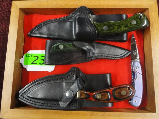 4) P. SHULGA   HAND MADE KNIVES