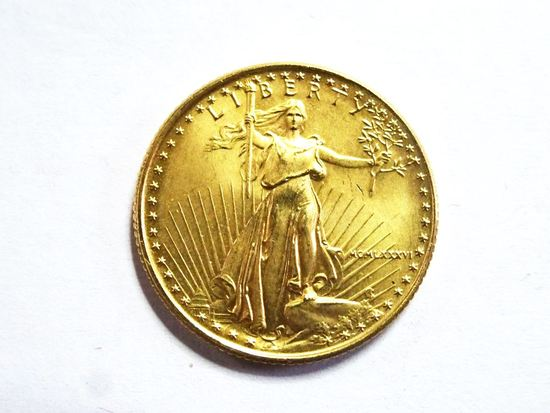 UNITED STATES OF AMERICA $10 GOLD COIN, 1/4 OZ. FINE GOLD