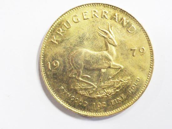 1979 SOUTH AFRICAN KRUGERAND 1 OUNCE FINE GOLD COIN