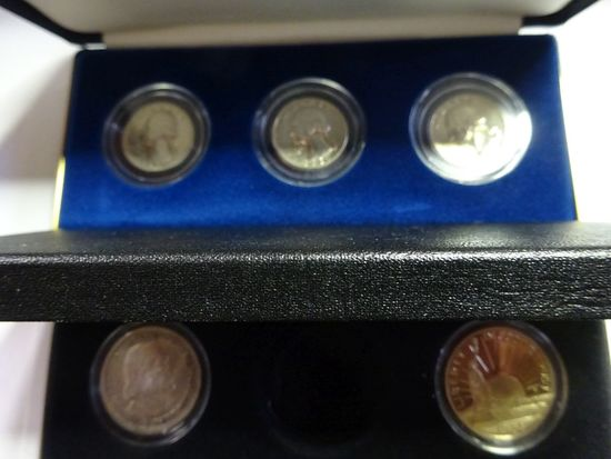 WASHINGTON SILVER QUARTER MINT SET:
