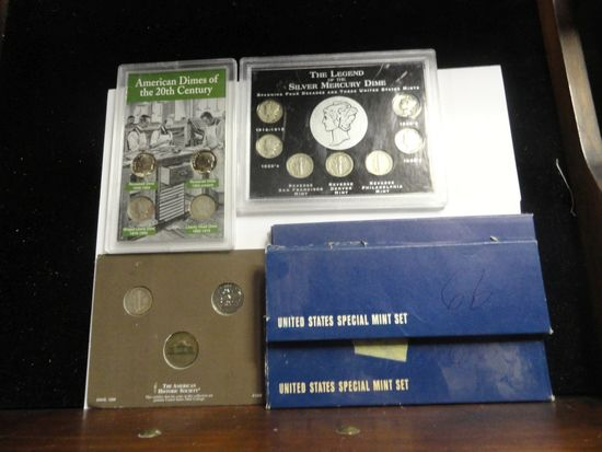 (5) 1966 UNITED STATES SPECIAL MINT SETS,