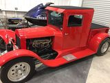 1934 FORD CUSTOM PICKUP, TITLED AS A 2010 REBUILD