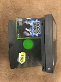 XBOX LOT: (1) XBOX ONE X, (1) XBOX VIDEO GAME SYSTEM, (1) XBOX 360 ROCK BAND GAME