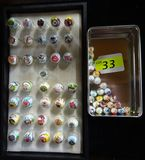 COLLECTION OF OIL COMPANY MARBLES