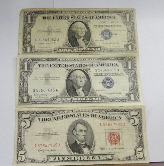 (2) $1 SILVER CERTIFICATE NOTES