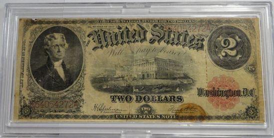 SERIES OF 1917 $2 UNITED STATES NOTE, SPEELMAN/WHITE SIGNATURES