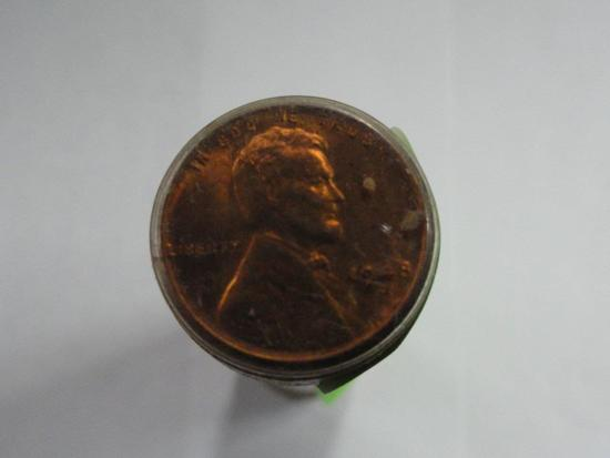 ROLL OF UNC 1948-D WHEAT CENTS