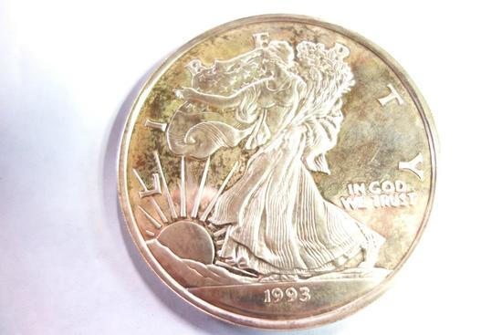 1993 1 LB. AMERICAN EAGLE ROUND