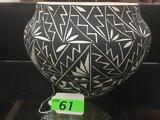 LARGE OLLA FROM ACOMA PUEBLO SIGNED BY LUCY CONCHO