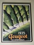 ART DECO 1935 PEUGEOT -