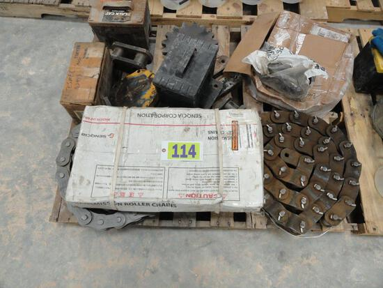 TESMEC TRENCHER PARTS INCLUDING
