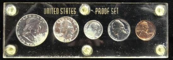 ENCAPSULATED 1963 U.S. PROOF SET