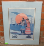 FRED BEAVER SIGNED AND NUMBERED PRINT