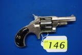 REMINGTON NEW MODEL #4 FIVE SHOT SINGLE ACTION REVOLVER, SR # 617