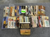 (42) ELMER KELTON PAPERBACK BOOKS AND 1 HARDBACK