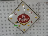VINTAGE ELECTRIC DR. PEPPER CLOCK