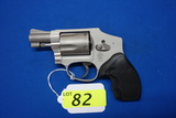 SMITH & WESSON MOD 642-2 AIRWEIGHT FIVE SHOT REVOLVER, SR # CJB0372,