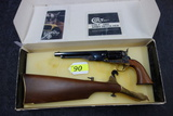 COLT AUTHENTIC BLACK POWDER SERIES 1860 ARMY REVOLVER WITH SHOULDER STOCK, SR # 209097