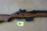 H&R ARMS M14 SEMI-AUTOMATIC RIFLE, SR # 276035,