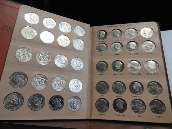 DANSCO ALBUM KENNEDY HALF DOLLARS
