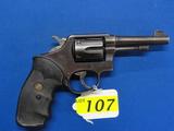 SMITH & WESSON MOD 10 SIX SHOT REVOLVER, SR # 40742