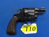 COLT DETECTIVE SPECIAL SIX SHOT REVOLVER, SR # 424073