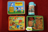 (3) VINTAGE LUNCH BOXES