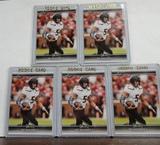 (5) LEAF DRAFT PAT MAHOMES II ROOKIE CARDS