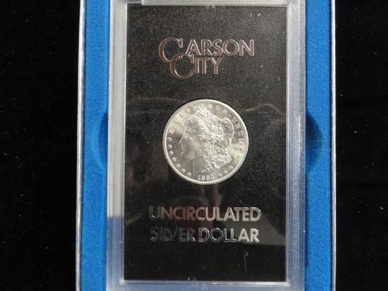1884-CC GSA UNCIRCULATED MORGAN SILVER DOLLAR
