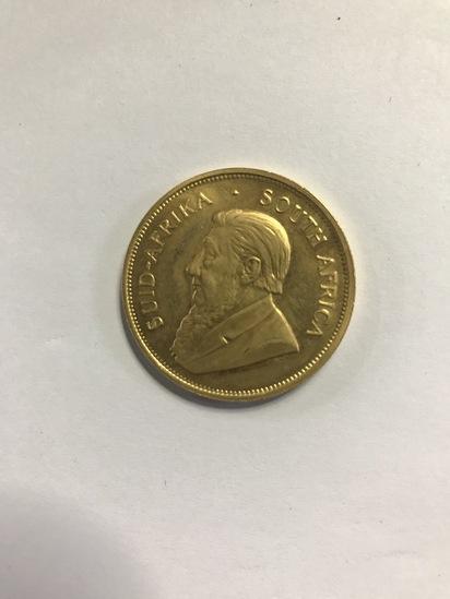 1978 KRUGERRAND 1 OZ FINE GOLD COIN