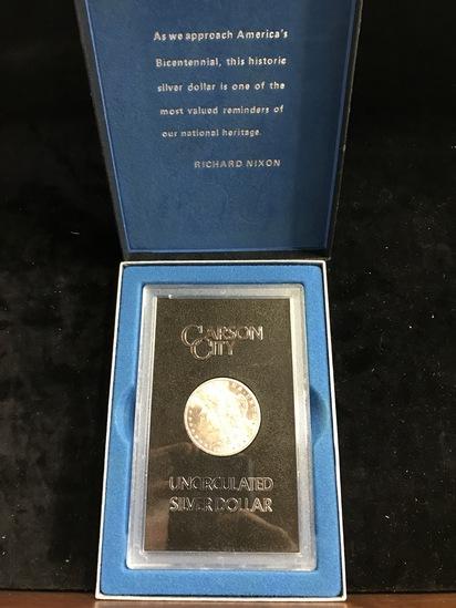GSA HOARD 1884-CC UNCIRCULATED MORGAN SILVER DOLLAR