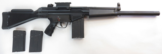 AN FN FAL PROP RIFLE