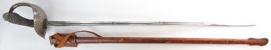 A BRITISH M 1912 OFFICERS SWORD